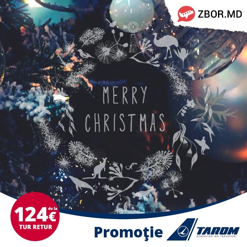 Ofertă specială de Crăciun de la Tarom!