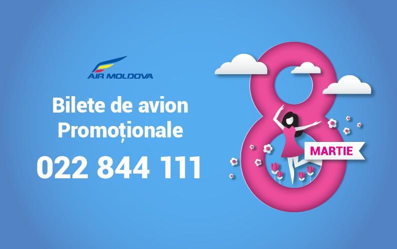 De 8 martie călătoriile sunt cadoul perfect! Bilete de avion de la 69 Euro*!