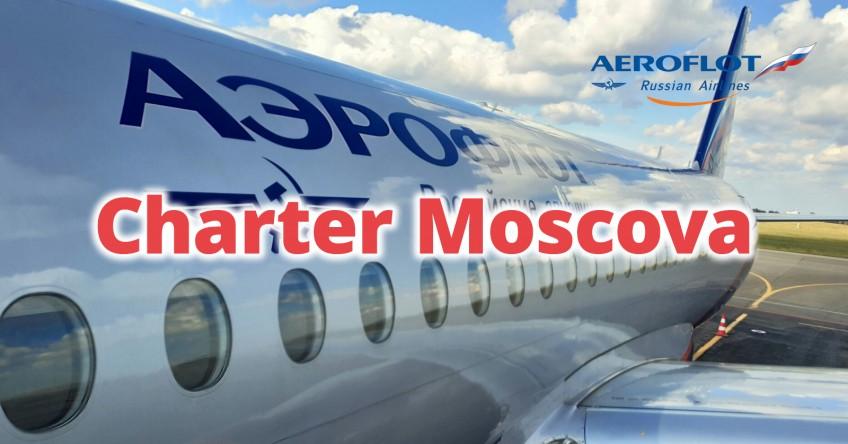 Reluare zboruri Aeroflot spre Moscova!