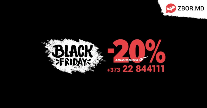 BLACK FRIDAY! Reduceri de 20% din tarif!