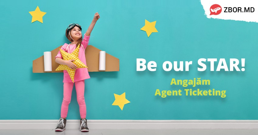 Be our STAR! Angajăm Agent Ticketing!