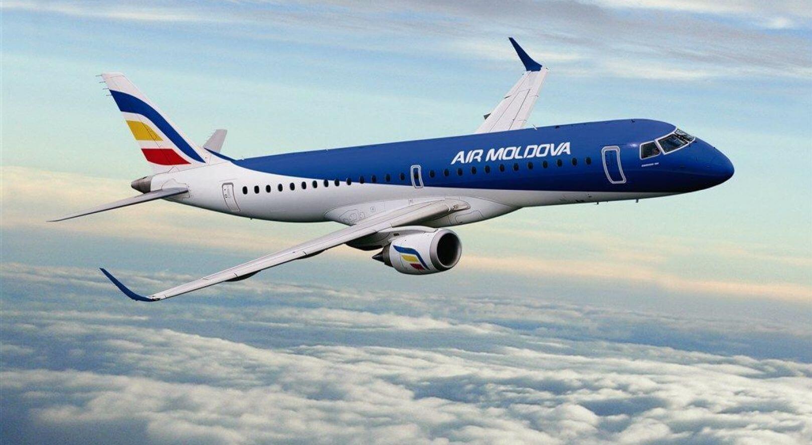 Bilete avion ieftine Airmoldova