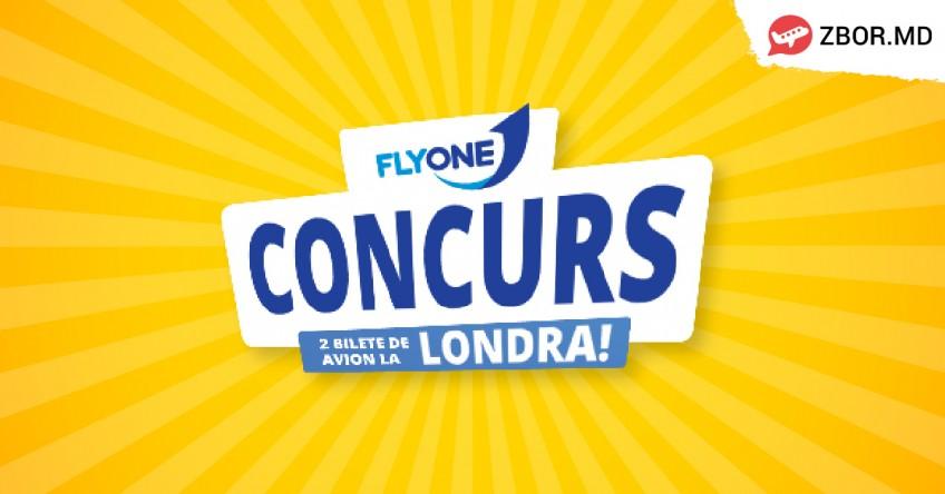 Câștigă 2 Bilete de Avion spre Londra cu ZBOR.MD și FLYONE