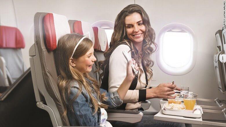 Particularităţile unui zbor aerian cu copiii