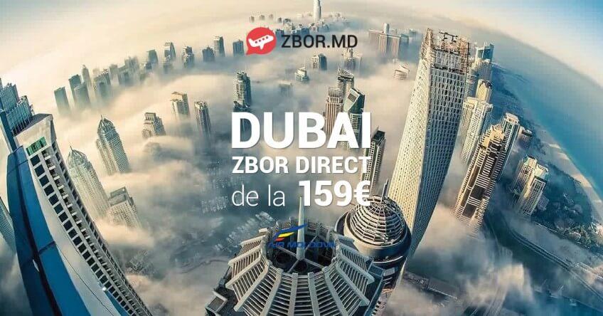 Dubai direct din Chișinău! Acum e posibil la doar 159 Eur!