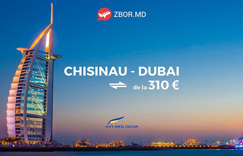Călătorești la Dubai cu Bilete de Avion de la 310 Euro!
