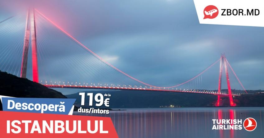 Descoperă Istanbulul de toamnă! Bilete de avion de la 119 Eur*