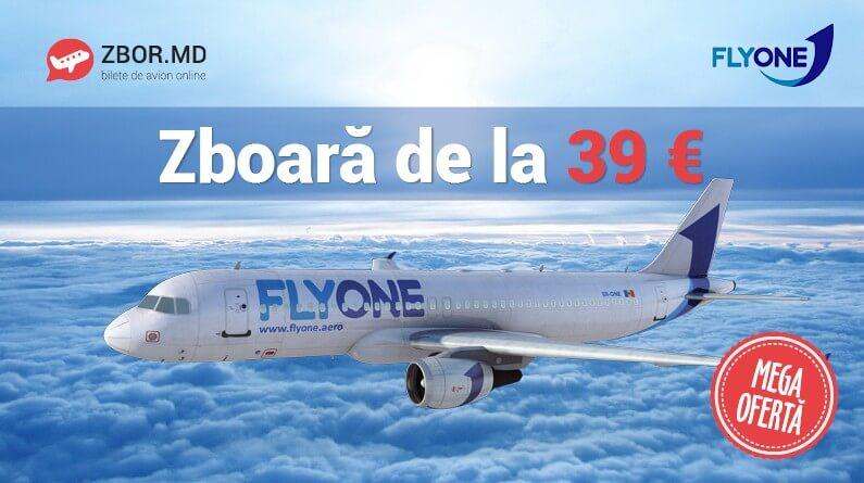 Bilete de avion de la 39 Eur*!