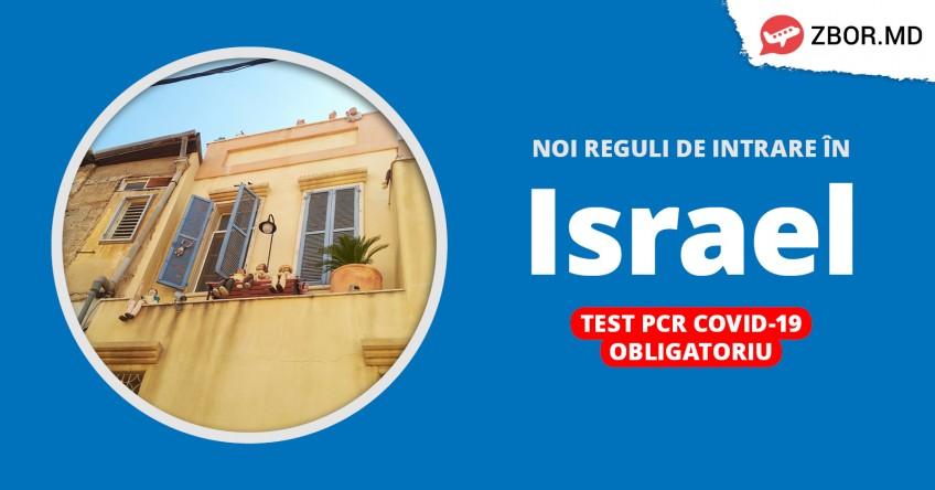 Noi reguli de călătorie spre Israel din 23.01.21