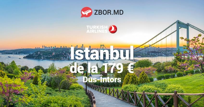 Savurează primăvara la Istanbul cu zbor de la 179 Eur, dus-întors!