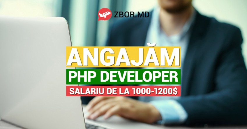 ANGAJĂM PHP Developer!