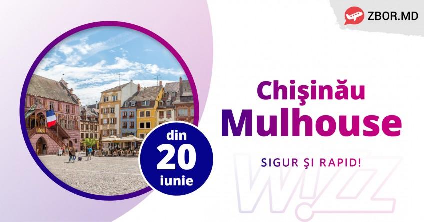 Zbor NOU din Chișinău cu Wizz Air!