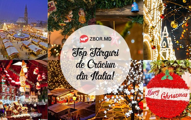 TOP 7 târguri de CRĂCIUN din Italia pe care să le vizitezi acum!