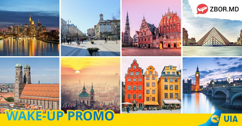 Wake-Up PROMO de la Ukraine International Airlines!