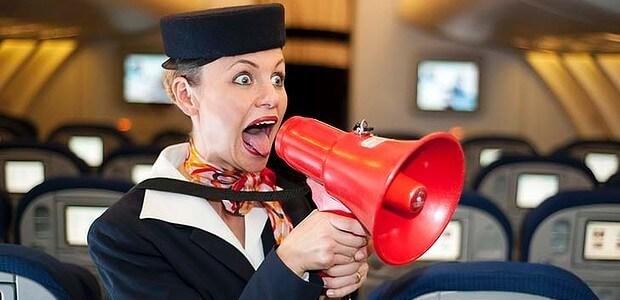 О правилах поведения и безопасности во время полета