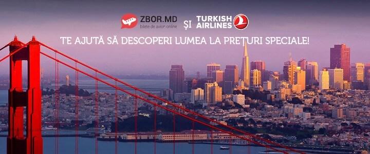 Ofertă de primavară pentru cele mai populare curse de la Turkish Airlines!