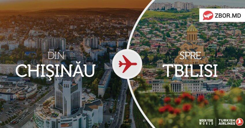 Georgia e mai aproape! Chișinău-Tbilisi-Chișinău