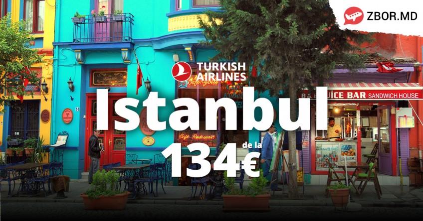 Chișinău - Istanbul de la 134 Eur, dus-întors!