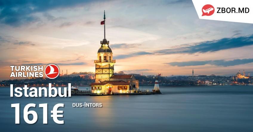 Zbor.md și Turkish Airlines au pregătit reduceri de sărbători!