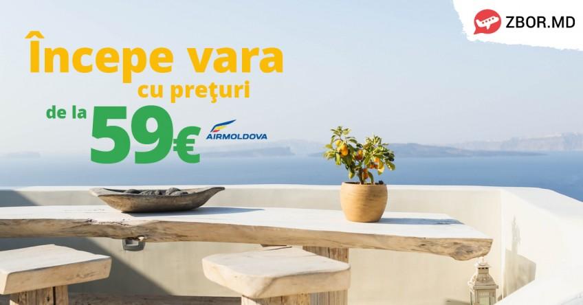 Bilete de Avion de la 59 Euro! Sună Acum 022 844 111!