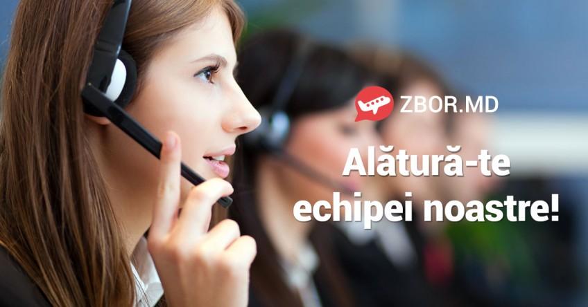 ANGAJĂM! Alătură-te echipe Zbor.md!