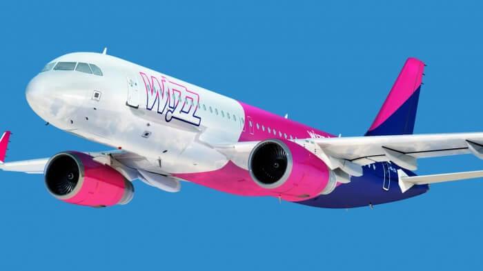 Авиакомпания Wizz Air будет произвести прямые рейсы из Кишинёв в Лондон и Болония
