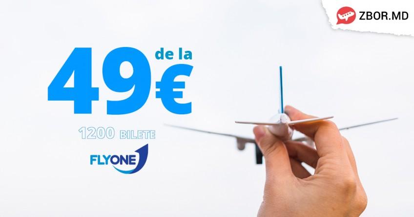 De 8 MARTIE o surprinzi ca niciodată cu Bilete de Avion de la 49Eur!